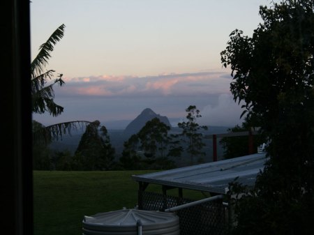 glass house mountain view sacred chef cooking school in maleny