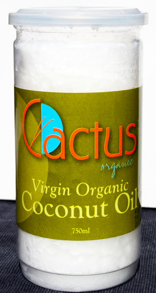 Cactus virgin organic coconut oil